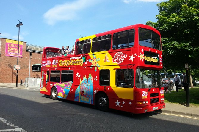 City Sightseeing Derry Hop-On Hop-Off Bus Tour