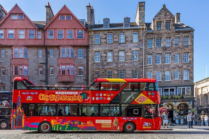 City Sightseeing Edinburgh Hop-On Hop-Off Bus Tour