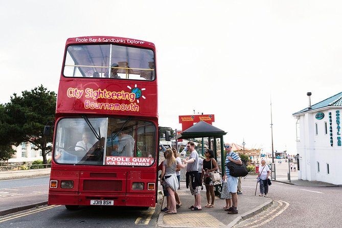 City Sightseeing Bournemouth Bus and Boat Hop-On Hop-Off Bus Tour