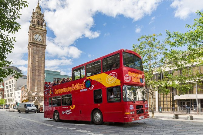 City Sightseeing Belfast Hop-On Hop-Off Bus Tour