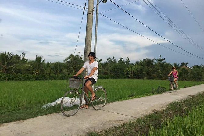 Cu Chi Tunnels and Biking on Ben Tre - Mekong Delta- Private Full Day Tour