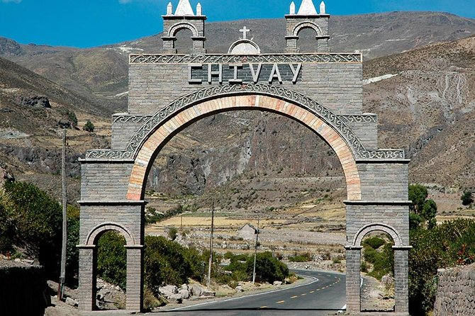 Bus from Puno to Chivay with stops