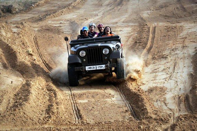 Jeep Safari Day Trip to Kanota Lake from Jaipur