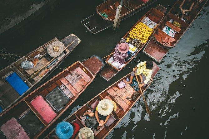 Train Market & Floating Market
