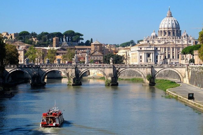 River Boat Experience plus Colosseum or Vatican Museums