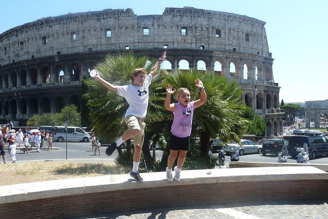 Skip the line Kids Special Private Tour of Colosseum Roman Forum and Palatine Hill Image