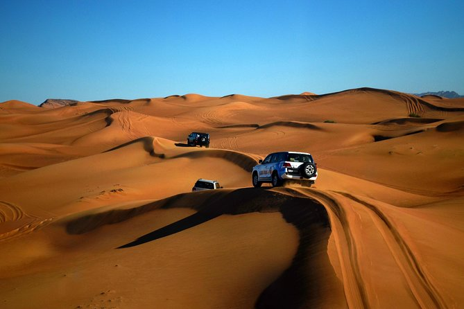 Desert Safari Adventure from Sharjah with Dune Bash and BBQ Dinner