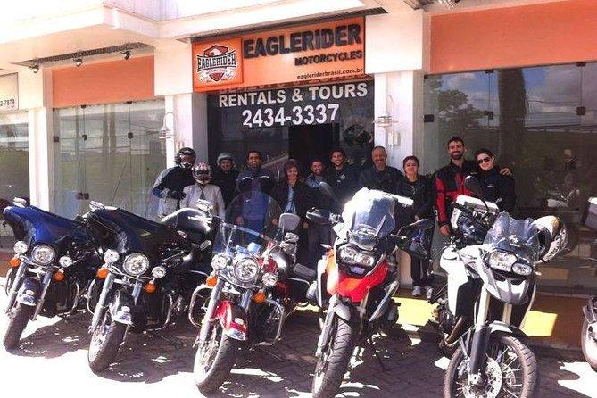 Rio de Janeiro 24-Hour Motorcycle Rental