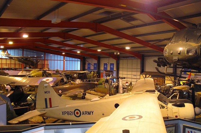 'Fasten Your Seat Belts' Aviation Tour from Southampton