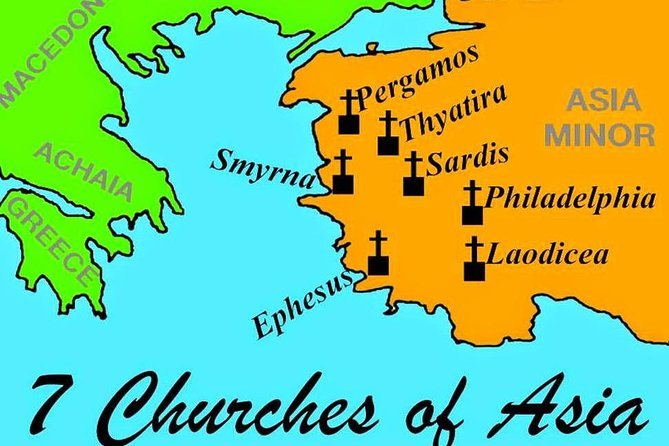 Private 3-Day Seven Churches Tour from Istanbul
