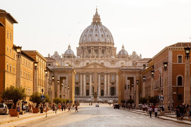 Private Vatican Hoogtepunten Skip-the-Line Tour plus een Taste of Rome