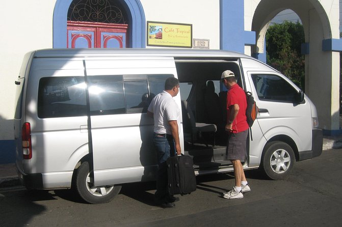 One-Way Private Transfer from Granada to Managua