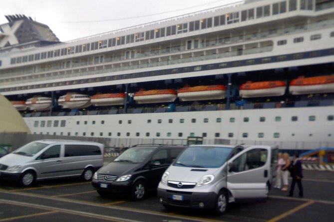 Private Transfer: Fiumicino Airport to Civitavecchia Cruise Port