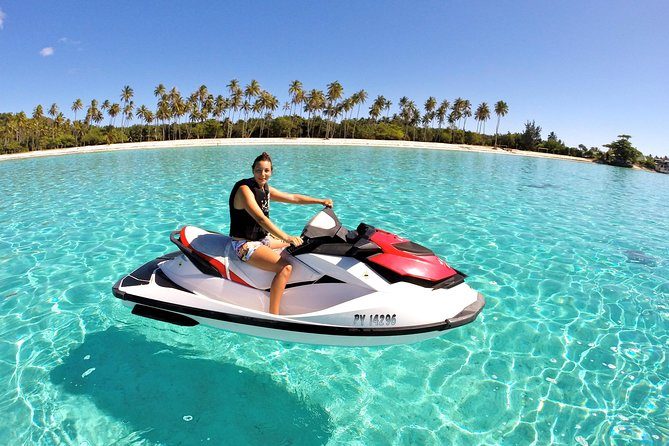 Moorea Solo or Twin Jet Ski Tour