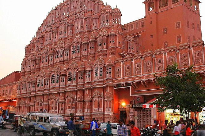 Visita a pie de la ciudad rosa de Jaipur