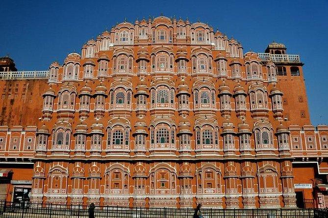Día completo en Jaipur haciendo turismo con almuerzo.