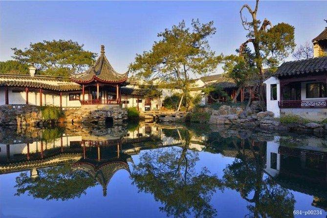 Suzhou Garden and Zhujiajiao Day Tour from Shanghai by English Driver Guide