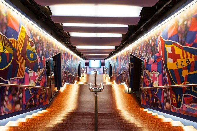 Full guided Visit F.C.Barcelona Camp Nou Experience with Tapas and Transfer.