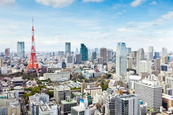 Dynamic Tokyo : Tokyo Tower, Tea Ceremony and Sumida River Cruise Day Tour