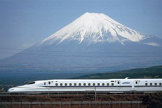 Mt.fuji on the bullet train