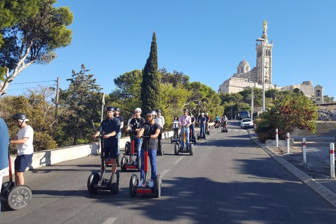Marseille City Segway Tour with Views from Notre Dame