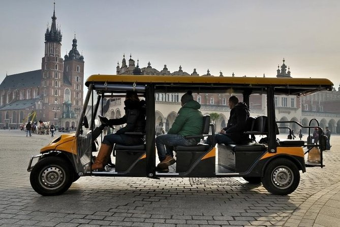 Krakow City Sightseeing by Electric Car