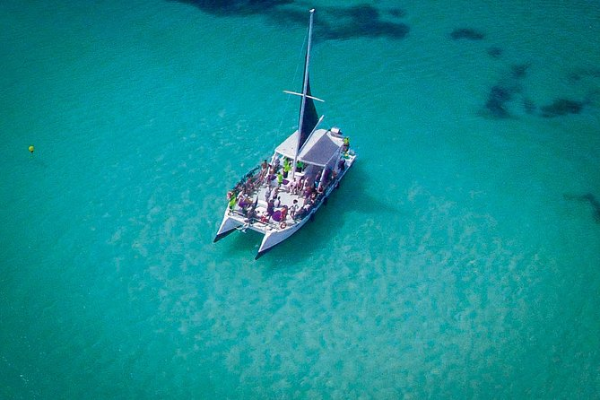 Punta Cana Catamaran Party with Snorkeling and Parasailing