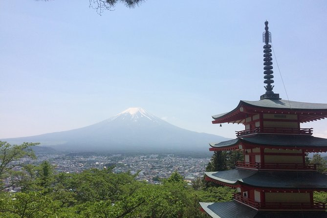 Mt Fuji full day private minivan tour from Tokyo