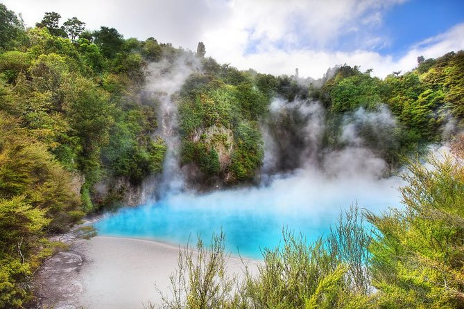 Waimangu Volcanic Valley Tour Option to add Hobbiton Wai-O-Tapu or Whakarewarewa
