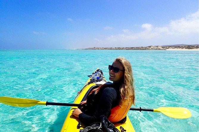 Lagoon Explorer - Ningaloo Reef Full-Day Kayaking and Snorkeling Adventure