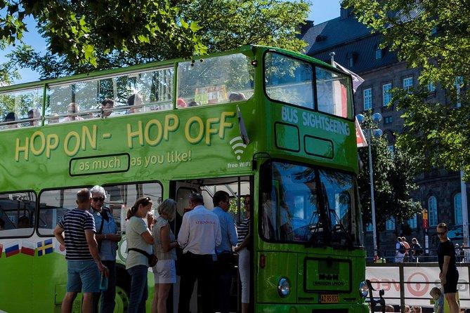Classic Copenhagen Tour Hop On - Hop Off Bus