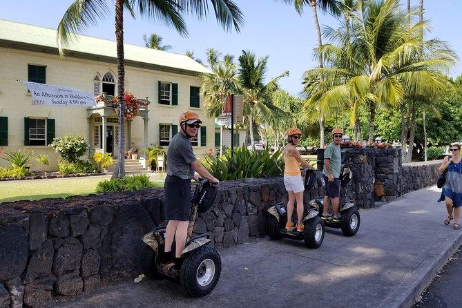 Kailua-Kona Segway Historic Kona Town Tour - 120 Minutes - Rating: EASY to MODERATE (due to duration)