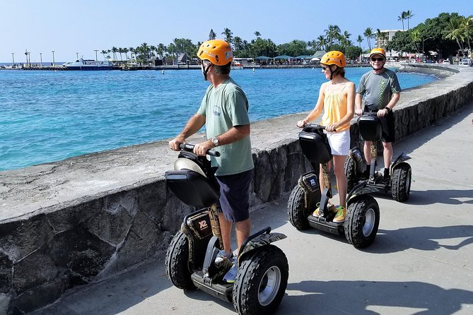 Kailua-Kona Segway Historic Kona Town Tour - 120 Minutes - Rating: EASY to MODERATE (due to duration)