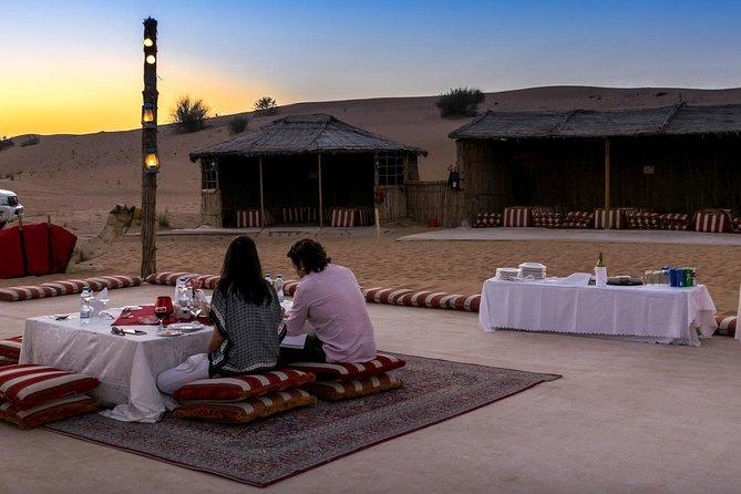 Private Tour: Dubai Romantic Desert and Dinner Experience for Two photo 1