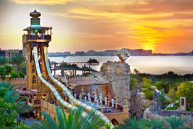 Wild Wadi Dubai water park Entrance with Optional Private transfers in Dubai