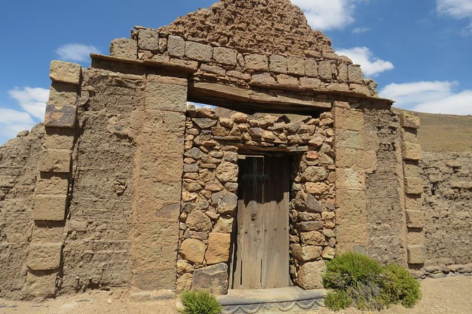 Ruinas arqueológicas privadas de día completo de Portugalete Tour desde Uyuni