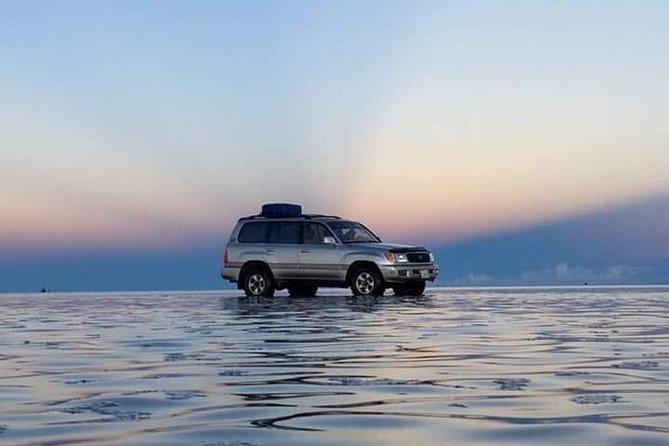 Viagem de um dia privado de La Paz a Uyuni Salt Flats by Flight