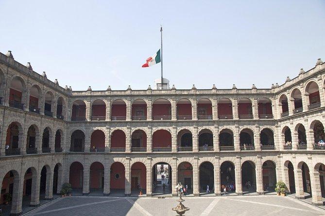 Övre och Lower Mexico City Arkitektur Tour