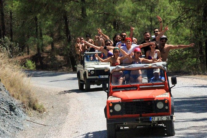 Natural Park Jeep Safari and Swimming in Davutlar Kusadasi