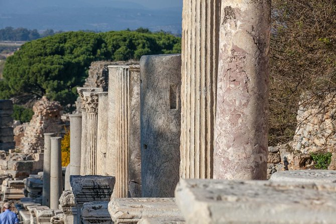 Deluxe Ephesus with Terrace Houses tour from Kusadasi