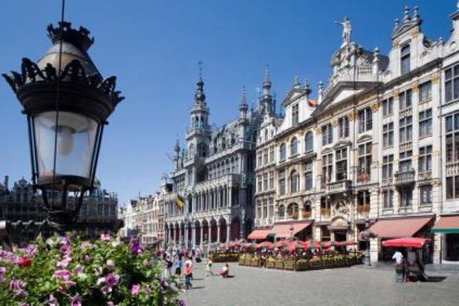 Bruxelas supereconômica: Excursão turística por Bruxelas e Passeio de meio dia por Antuérpia