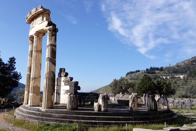 Private Delphi & Hosios Loukas Monastery with Great Lunch & Drinks Included