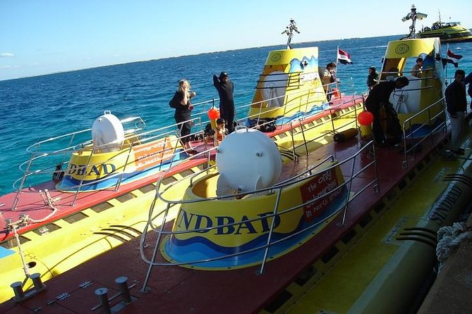 50 Minute Submarine Journey in the Red Sea Including Transport from Hurghada photo 1