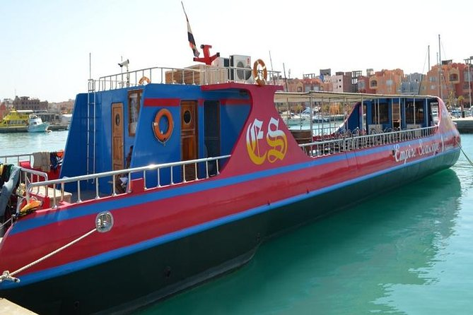 Glass Bottom Boat Trip: Amazing Underwater Red Sea