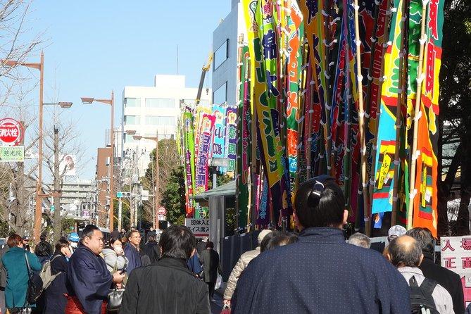 Half Day Walking Tour To Find Edo Culture Including Ukiyoe in a Sumo Town Ryogoku