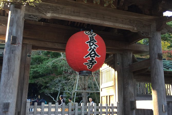 Full-Day Kamakura Tour from Tokyo Viewing a Variety of Flowers at Hase Temple