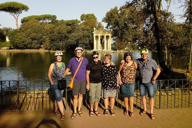 Borghese garden bike tour