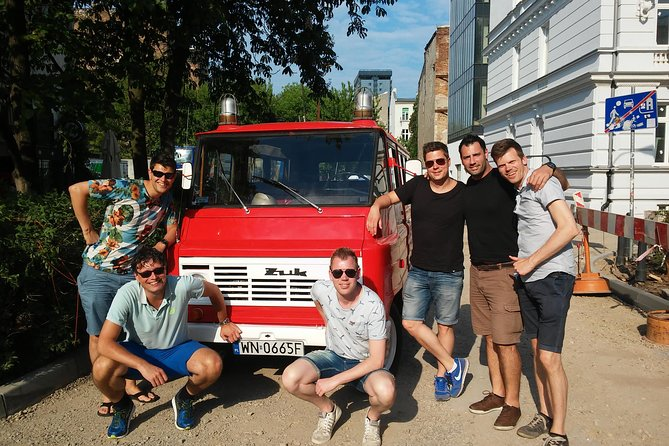 Warsaw Food Tour off the beaten path by retro minibus