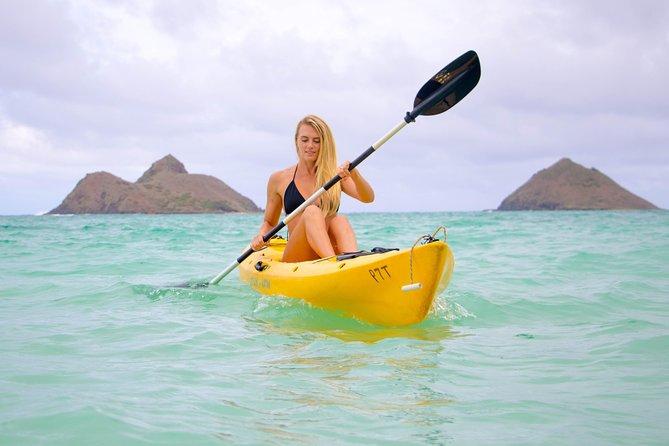 Single Person Kayak Rental from Kailua Beach - Full day to visit Mokulua Islands