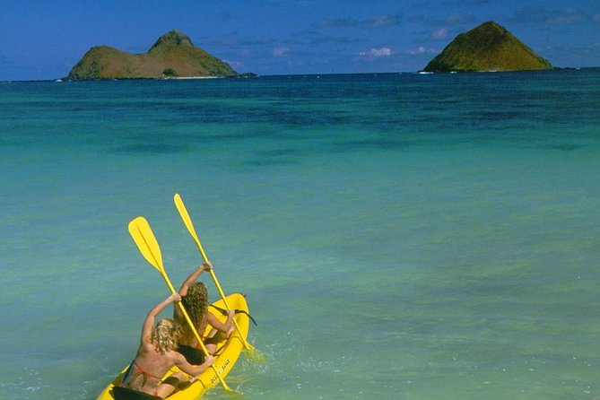 Tandom Kayak Rental to Kailua Beach - Full day to visit Mokulua Islands